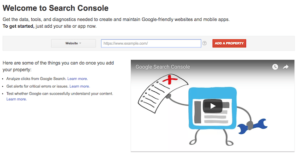 Google Search Console Log In