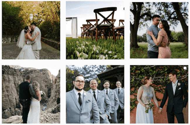 Wedding Photos From Instagram Feed