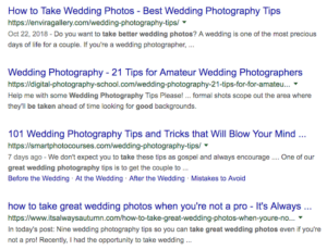 Wedding Photography Google Search Results