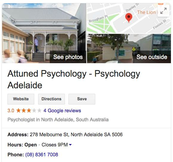 attuned psychology adelaide