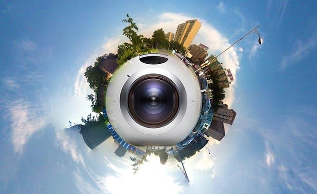 360 photo of digital world