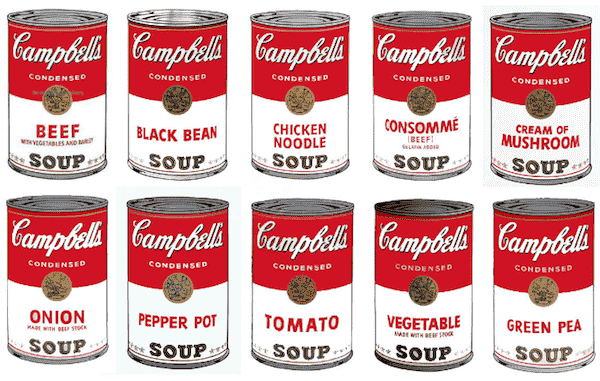 campbell's soup ad