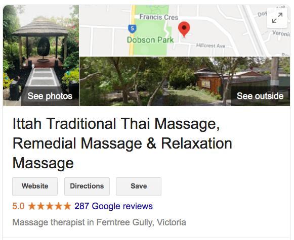 Ittah Traditional Thai Massage GMB