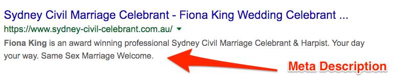 Sydney Civil Celebrant Meta Description