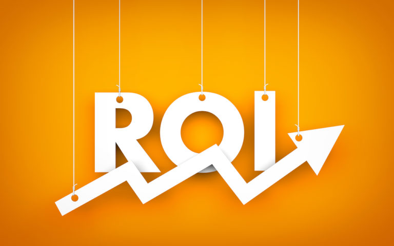 Social Media ROI illustration